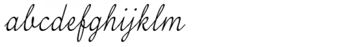 Tenison Font LOWERCASE