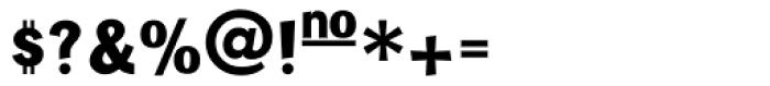 Tenko Gemeinheit Font OTHER CHARS