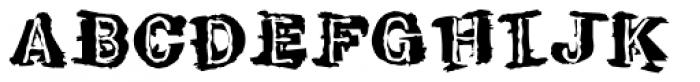 Tenpenny Dreadful Font UPPERCASE