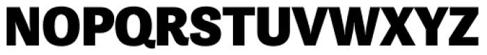 Tenso Black Font UPPERCASE