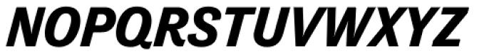 Tenso Bold Italic Font UPPERCASE