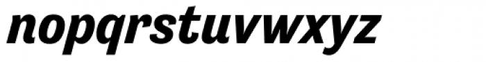 Tenso Bold Italic Font LOWERCASE