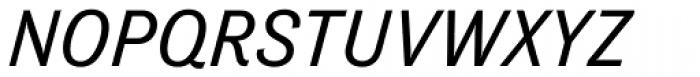 Tenso Italic Font UPPERCASE