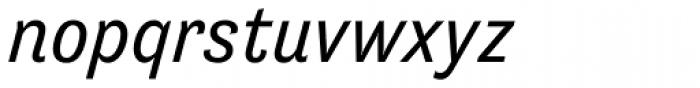Tenso Italic Font LOWERCASE