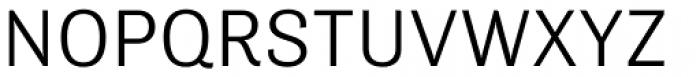Tenso Light Font UPPERCASE