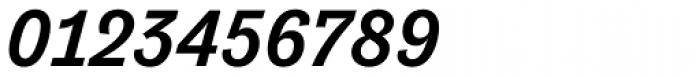 Tenso Medium Italic Font OTHER CHARS