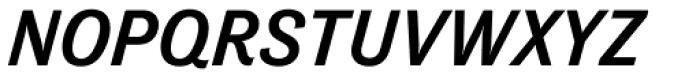 Tenso Medium Italic Font UPPERCASE