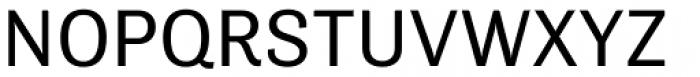 Tenso Regular Font UPPERCASE
