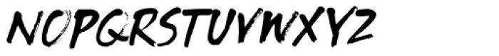 Tenterhooks Italic Font UPPERCASE