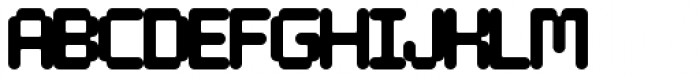 Tephra 0 Font UPPERCASE