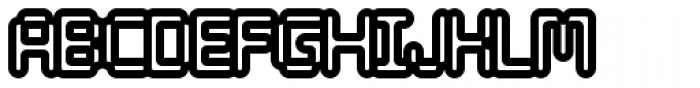 Tephra 100 Font UPPERCASE
