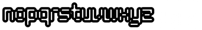 Tephra 100 Font LOWERCASE