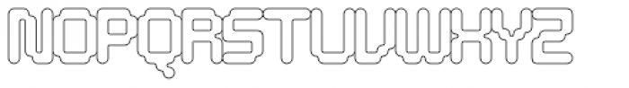 Tephra 12 Font UPPERCASE