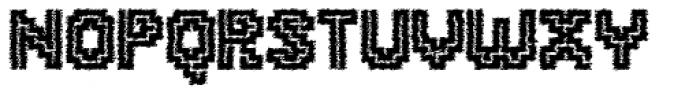 Tequendama Rustic Font UPPERCASE