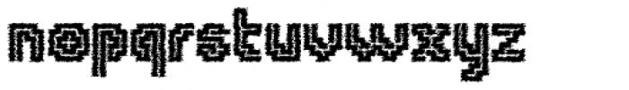 Tequendama Rustic Font LOWERCASE