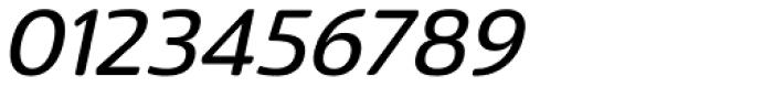 Terfens Medium Italic Font OTHER CHARS