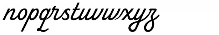 Terital United Font LOWERCASE