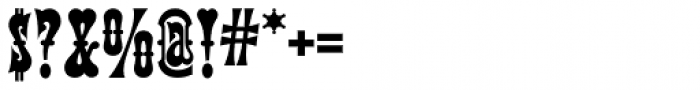 Terlingua NF Font OTHER CHARS