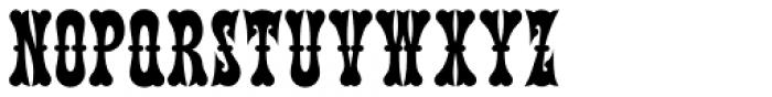 Terlingua NF Font UPPERCASE