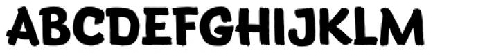 Terry Junior Deluxe Font UPPERCASE