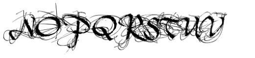 Tertius Romantic Font UPPERCASE