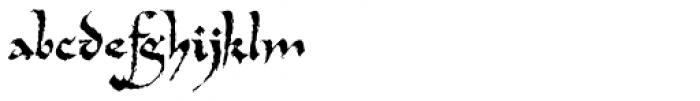 Tertius Romantic Font LOWERCASE