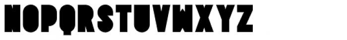 Tes UltraBlack Font UPPERCASE
