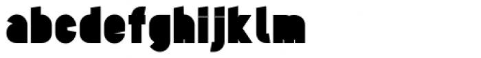 Tes UltraBlack Font LOWERCASE