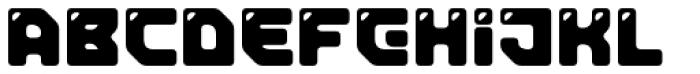 Tesla Round Font LOWERCASE