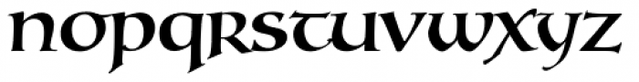 Testament I Medium Font LOWERCASE
