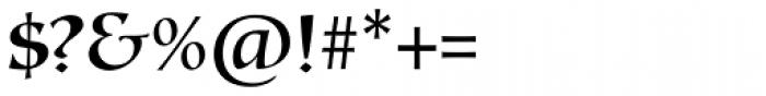Testament II Regular Font OTHER CHARS