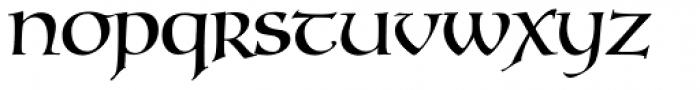 Testament II Regular Font LOWERCASE