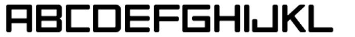 Tetra Book Font UPPERCASE