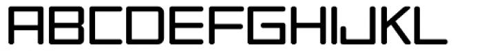 Tetra Light Font UPPERCASE