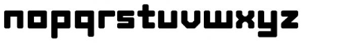 Tetra Std Bold Font LOWERCASE