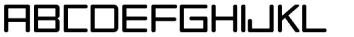 Tetra Std Light Font UPPERCASE