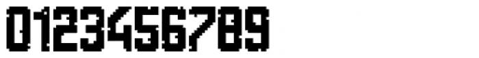 Tetris Quadrate Font OTHER CHARS