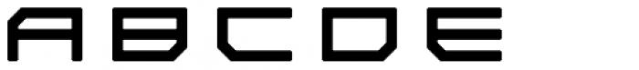Tetsuo AT Regular Font UPPERCASE