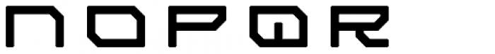 Tetsuo AT Regular Font LOWERCASE