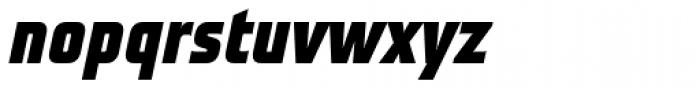 Teuton Fett Bold Italic Font LOWERCASE