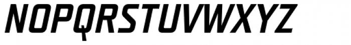 Teuton Fett Italic Font UPPERCASE