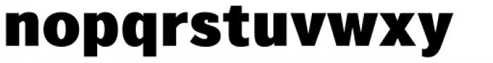 Texicali X Black Font LOWERCASE