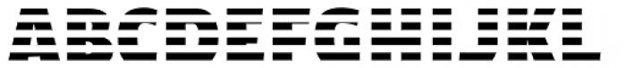 Text Tile Hstripe E Full Font UPPERCASE