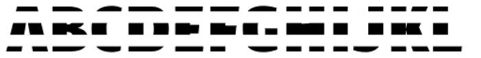 Text Tile Hstripe F Full Font UPPERCASE