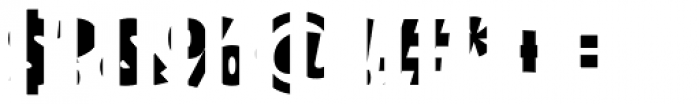 Text Tile Vstripe F Full Font OTHER CHARS