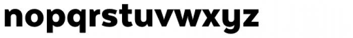 Texta Alt Black Font LOWERCASE