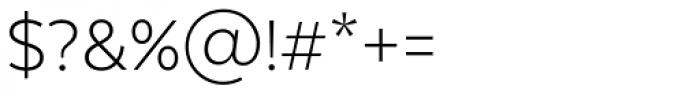 Texta Alt Light Font OTHER CHARS