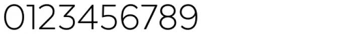 Texta Light Font OTHER CHARS