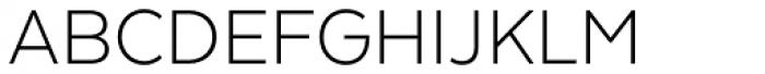Texta Light Font UPPERCASE