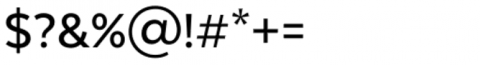 Texta Medium Font OTHER CHARS